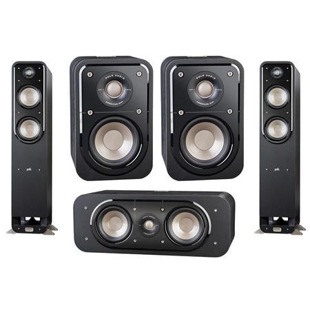 "Polk ""Open Box"" Signature Series 5 Speaker Set -  S55 + S30 + S10 - $575 free ship $574.99"
