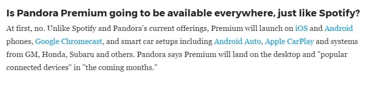 Pandora Premium Rolling Out (got my invite by email today) - sign up for your invitation (6-month free trial for Pandora Plus subscribers, 30 or 60 day trials for others)