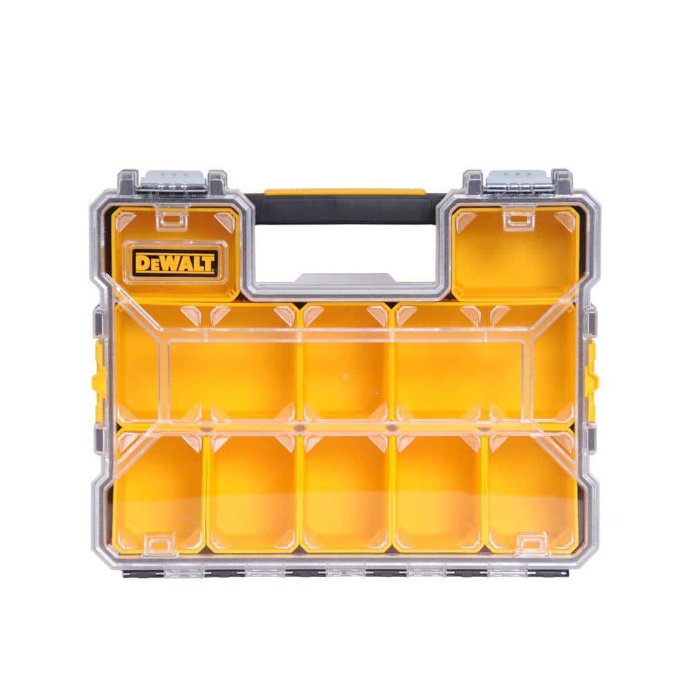 DEWALT 10-Compartment Deep Pro Small Parts Organizer, Home Depot YMMV in-store only $9.88