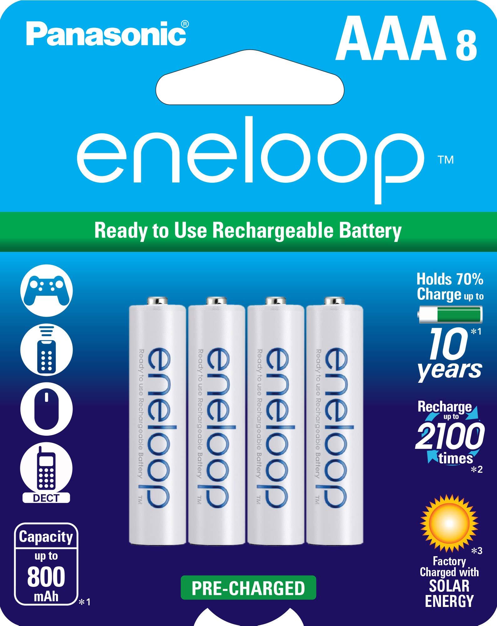 Eneloop 8xAAA for $15.89