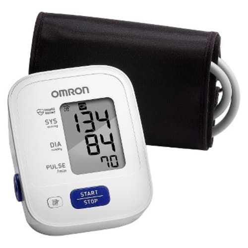 Omron 3 Series Upper Arm Blood Pressure Monitor with Cuff that fits Standard and Large Arms (BP710N) $22.94