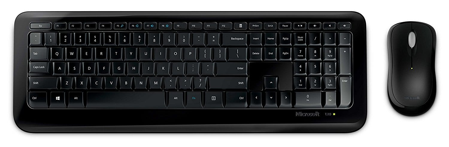 Microsoft 850 USB Keyboard & Mouse Combo $0.01 w/ .edu coupon (In-store only)