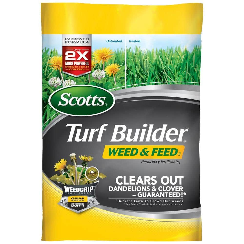 Scott's Turf Builder Weed and Feed Lawn Fertilizer Over 20% off $44.98