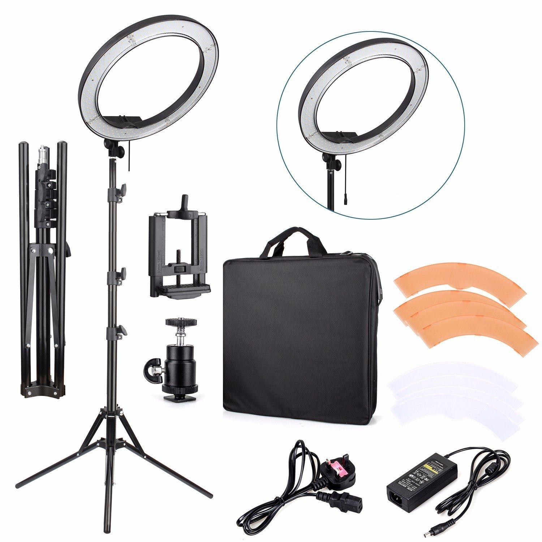"EACHSHOT ES240 18"" LED Ring Light Kit for Photography $117"