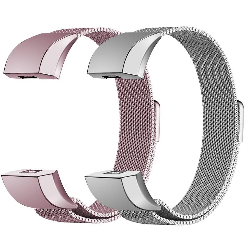 50% off Fitbit Charge 2 Bands Magnetic Milanese Loop Bands $3.95