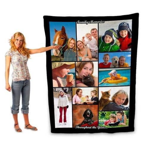 40% off at PersonalThrows.com - Your Photo on Blankets, Pillows & More