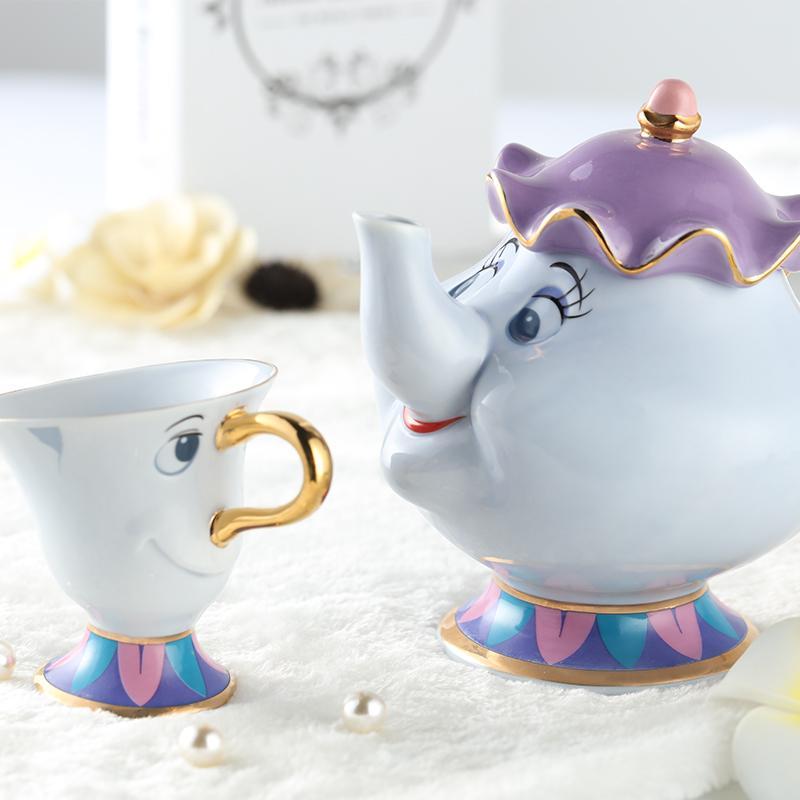 67% off Beauty and the Beast Tea Set $29.95