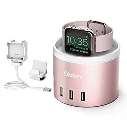 40% off Oittm Apple Watch Series 3 Stand for Recharging $16.79