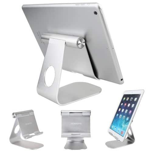 270° Rotatable Aluminum Tablet Stand $6.94 (50% discount)
