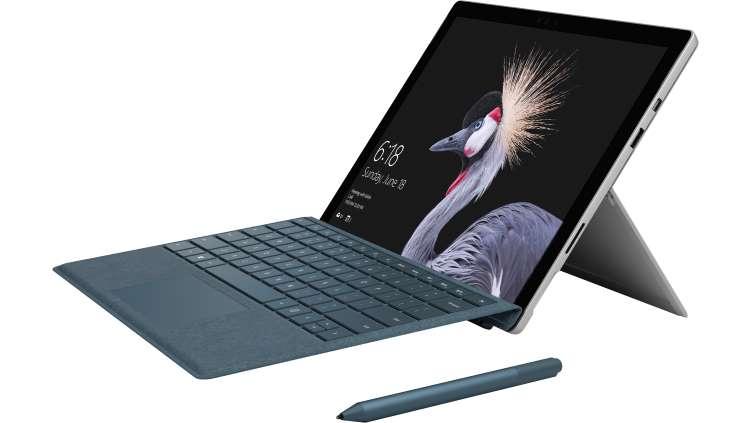 Microsoft Surface Pro (newest version) Intel Core m3 / 128GB SSD / 4GB RAM $599
