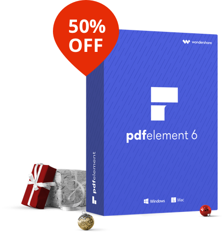 Save 50% on PDFelement 6 | Smart PDF Editor and Converter on sale for $29.97 via Techradar