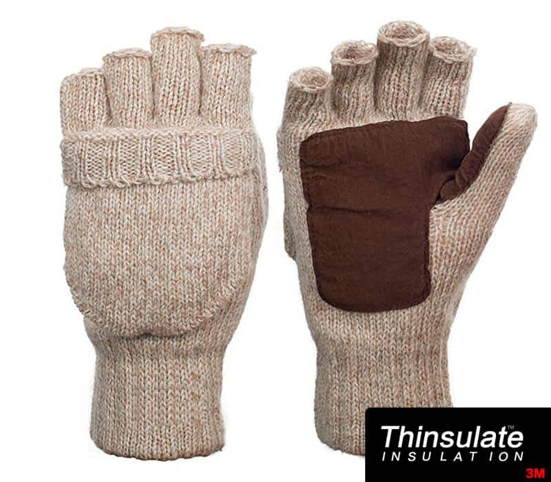 Metog Suede Thinsulate Thermal Insulation Mittens on sale for $7.99