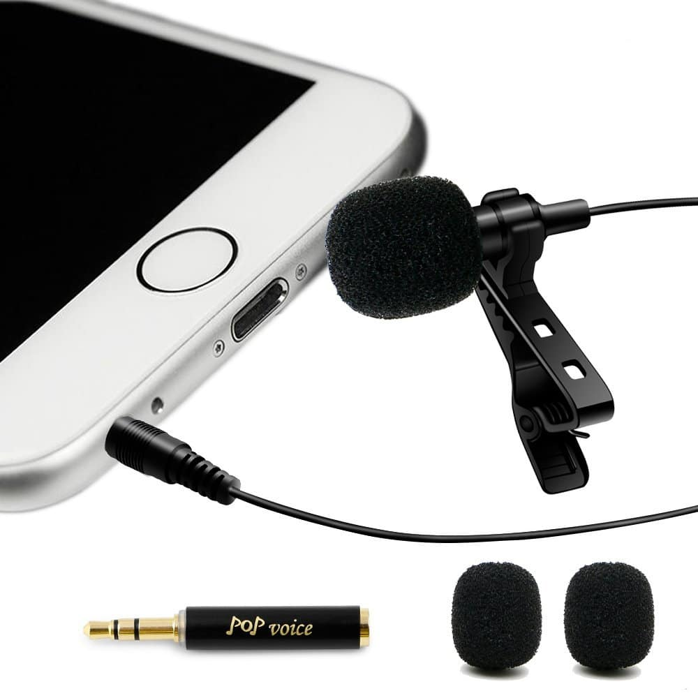 Professional Lavalier Lapel Microphone on sale for $9.61 (26% off) @ Amazon