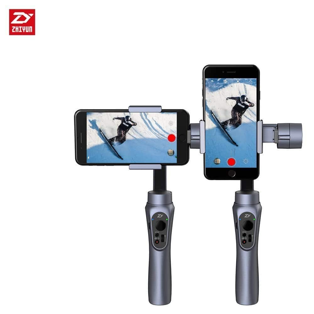 Zhiyun Smooth-Q Professional Video Handheld Gimbal Stabilizers on sale from $99