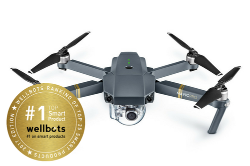 DJI Mavic Pro with Remote Controller on sale for $869 + Free Shipping @ WellBots