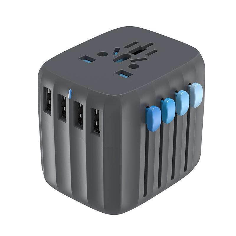 Zendure International Power Plug Travel Adapter + 4 USB Ports (5A) for $24.97 (50% off) + Free Shipping
