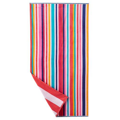 The Big One Beach Towel Assorted AC W InStorePU Kohl 39 S Sli