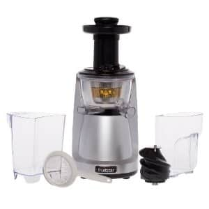 Vertical Slow Masticating Juicer for Fruits and Greens By Fruitstar For $99.99 + Free Shipping @ amazon.com