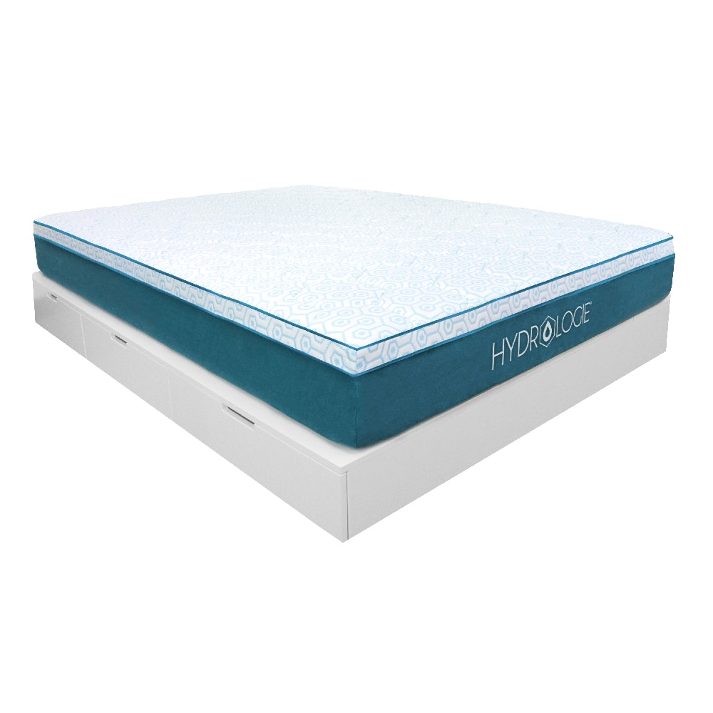 """Hydrologie Deluxe Advanced Cooling 10"""" Firm Support Memory Foam Mattress, Cool to the touch cover and temperature control $355.97"""