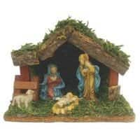 Christmas Nativity Sets ~ Santas Forest Decor Nativity Sets, 4, 9, or 11 Piece sets @ Amazon $  24-$  34