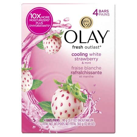 YMMV 4-pack Olay beauty soap bars - IN STORE PURCHASE $0.25