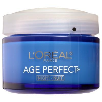 L'Oréal Paris Skin Care Age Perfect Night Cream 2.5 oz. $5.81