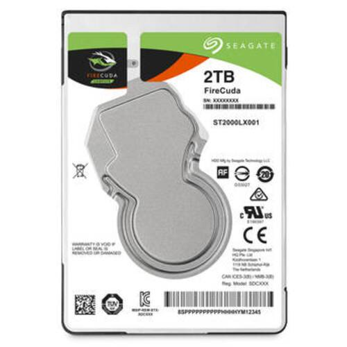 "2TB FireCuda SATA 6Gb/s 2.5"" Hybrid Gaming Hard Drive $80"