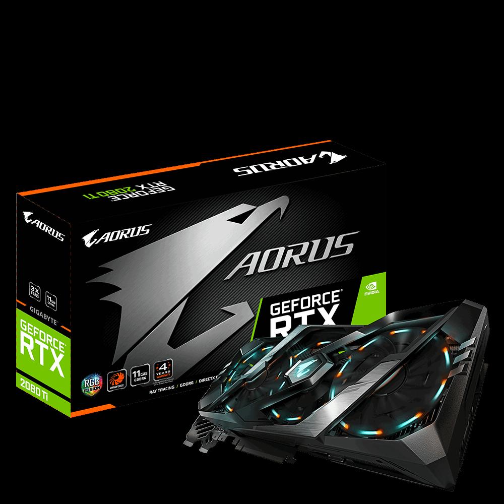 GIGABYTE AORUS GeForce RTX 2080 Ti $1080