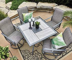 Big Lots B&M Clearance - Wilson & Fisher Hillcrest 5-Piece Patio Dining Set $239.99
