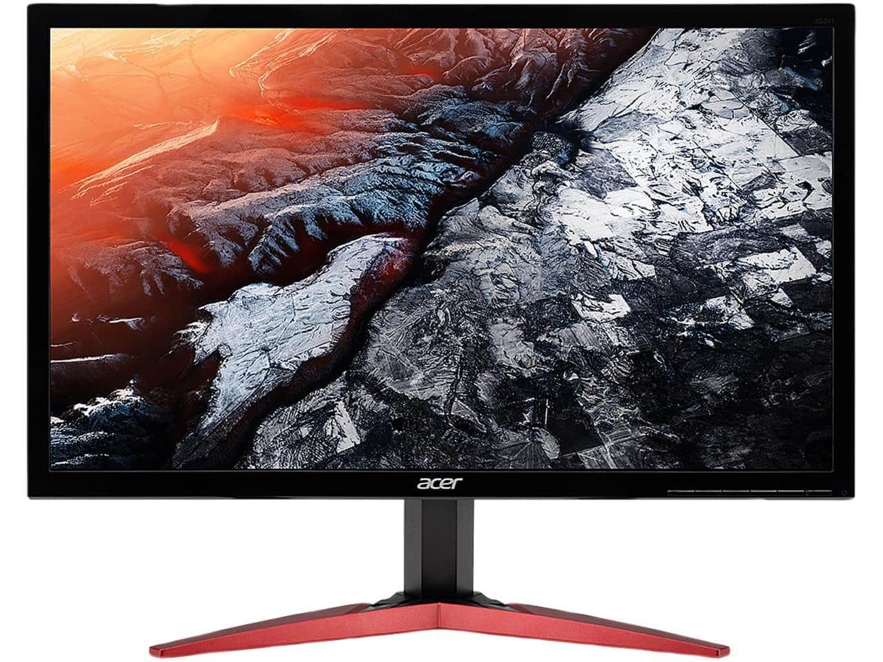 "Acer 24"" 1ms 144Hz 1080p FreeSync Gaming Monitor $159.99"