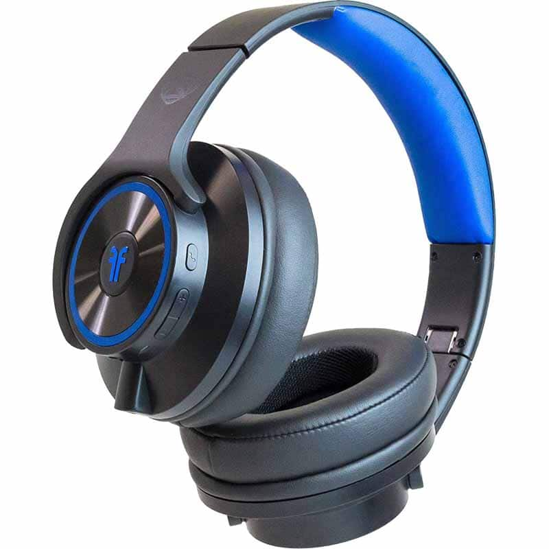 NCredible Flips - Bluetooth Wireless Headphones That Transform into Powerful Speakers (Black/Blue) - $24.99 w/ Promo Code