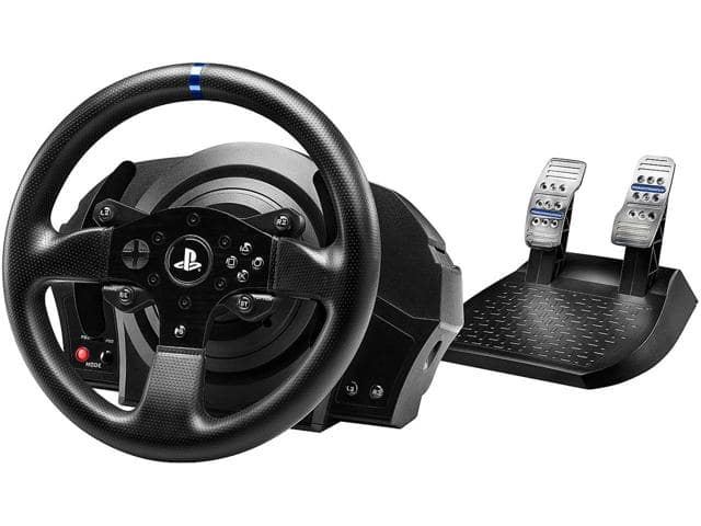 Thrustmaster T300 RS PS3/PS4/PC Force Feedback Racing Wheel + Gran Turismo Sport $249.99