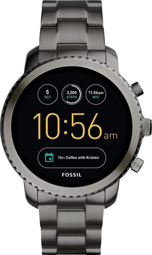 Fossil - Q Explorist Gen 3 Smartwatch 46mm Stainless Steel - FREE SHIPPING $189