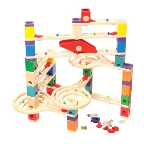 Hape Quadrilla Wooden Marble Run Construction - Vertigo $67.13