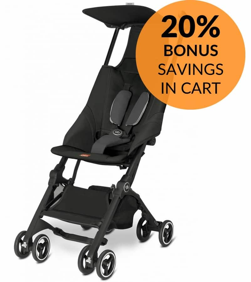 GB Pockit Compact Stroller $143.99 shipped from Albee Baby