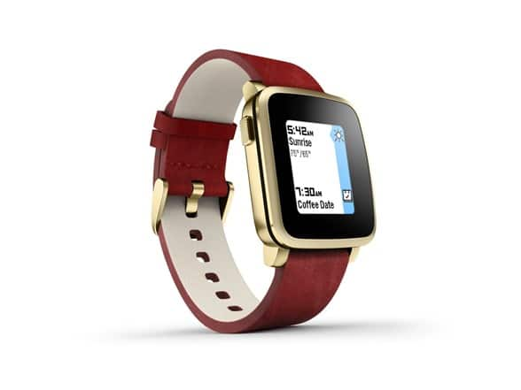 Pebble Time Steel Smartwatch - iOS & Android Compatible [Factory Reconditioned] For $99.99 + $5 Shipping @ woot.com