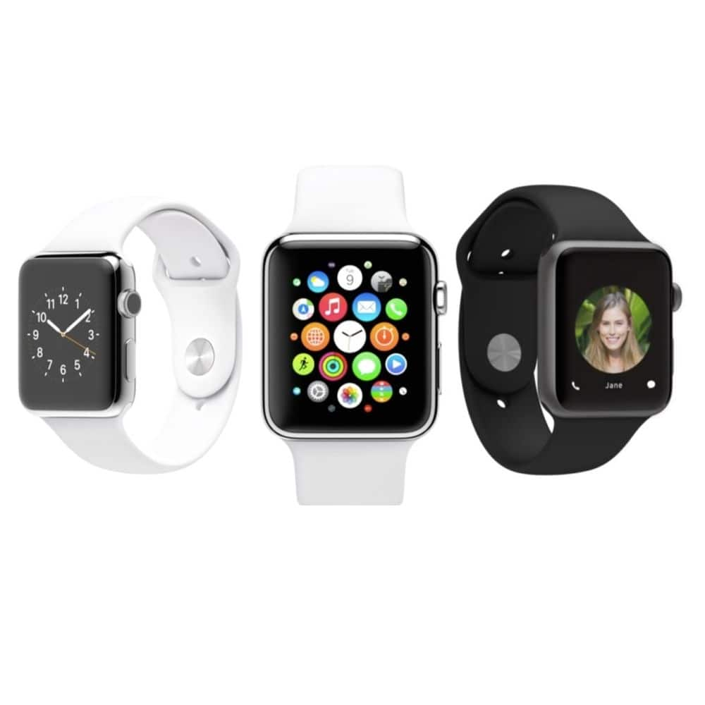 Apple Smart Watch 38mm Aluminum Case with Sport Band [Refurbished] For $214.99 + Free Shipping @ eBay