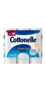 Cottonelle Ultra ComfortCare Big Roll Toilet Paper, Bath Tissue, 12 Count For $4.99 + 25% Off @ Amazon