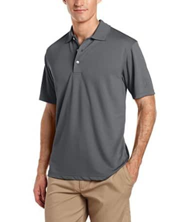PGA TOUR Men's Golf Air Flux Short-Sleeve Solid Polo Shirt: $14 + Free Shipping (YMMV)