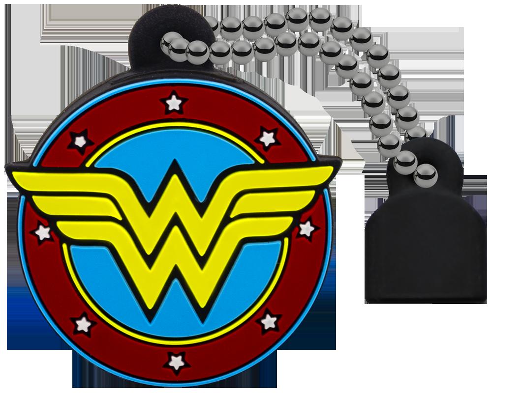YMMV In-Store Wal-Mart Clearance: Emtec DC Comics Wonder Woman, Batman, and Superman 32GB USB 2.0 flash drives for $1