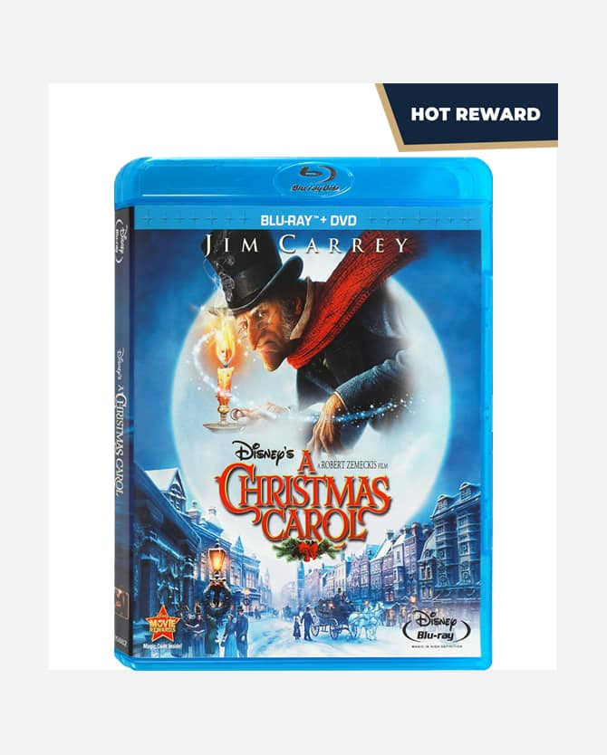 "Disney Movie Insiders ""A Christmas Carol"" Blu-ray DVD Combo 400 points"