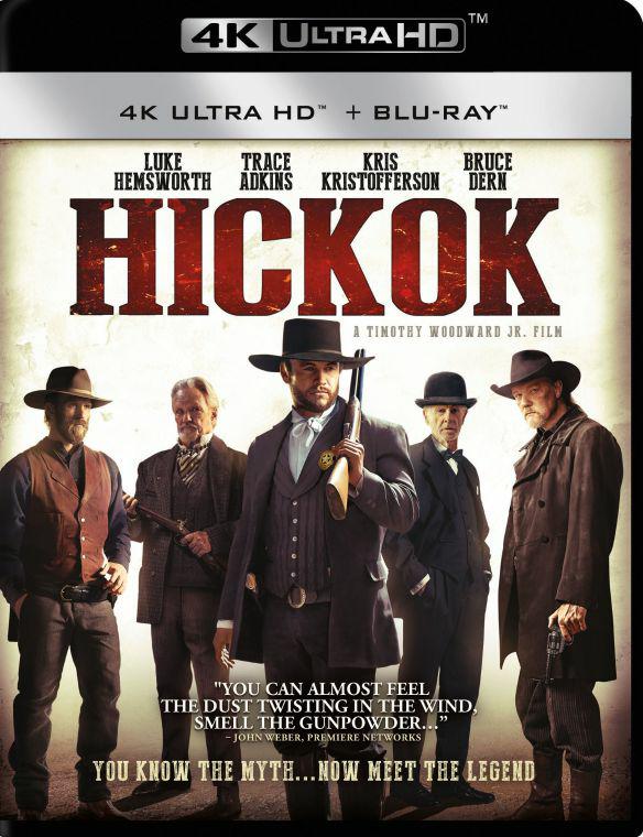 Hickok [Blu-ray] [4K Ultra HD Blu-ray] [2017] - Best Buy $5.99