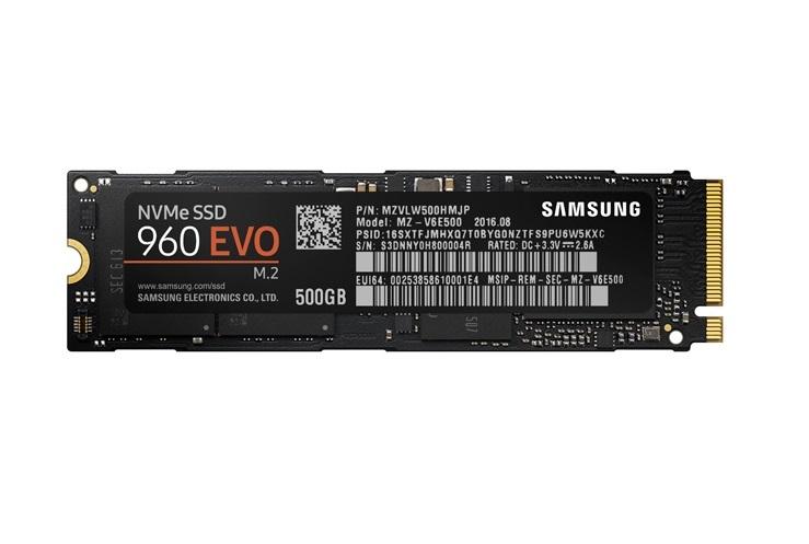 New Samsung.com Customers: Samsung 960 EVO 500GB + Watch Dogs 2 $202.49