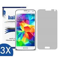 Amazon Deal: $0.01 FS - 3 Halo Screen Protector  for Samsung Galaxy S5 Amazon *Gone for today*