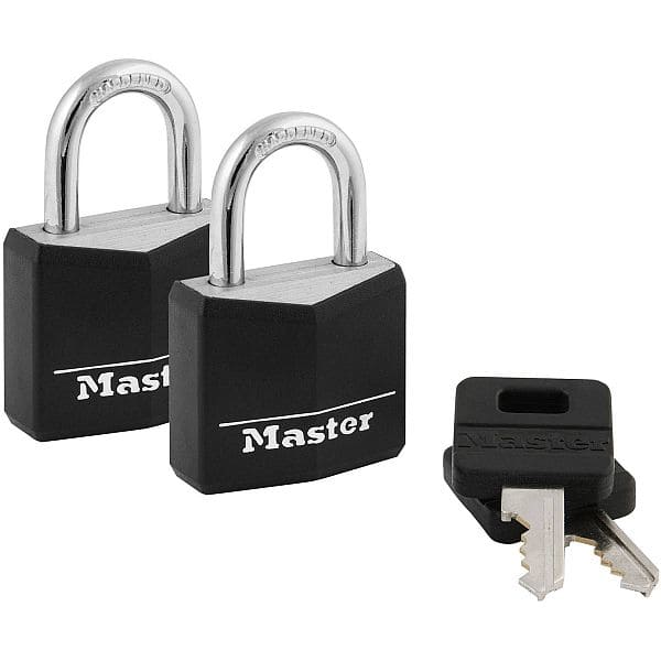 Master Lock 30mm 131T Covered Padlocks, 2pk - $1.71 (must buy 2) @ Walmart + Free Store Pickup