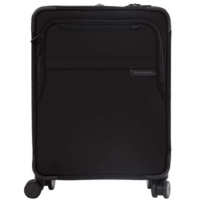 """Briggs and Riley Baseline International 21"""" Carry-On Expandable Wide-Body Spinner Black or Navy $479.99 + FS @ Costco"""