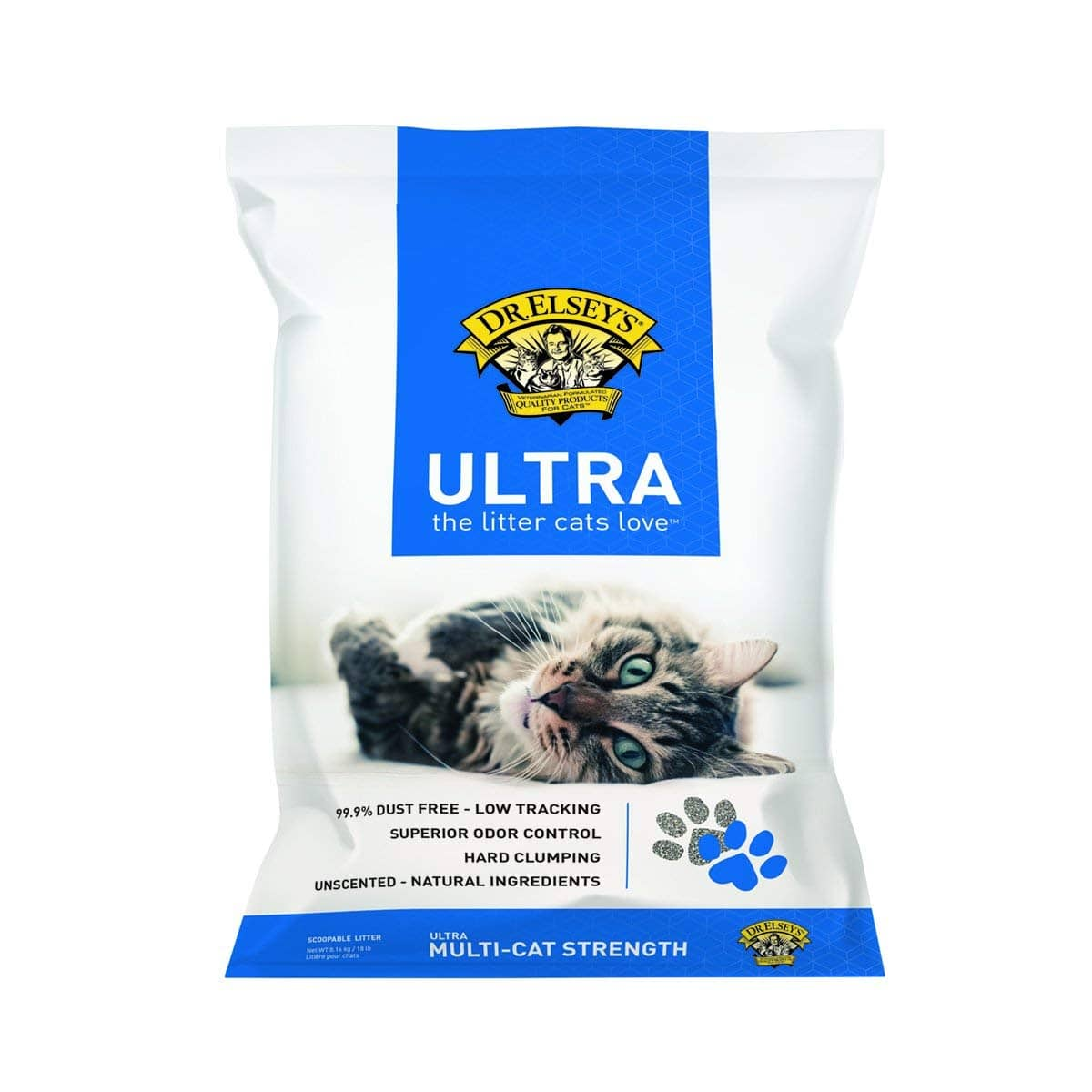 Dr. Elsey's Precious Cat Ultra Cat Litter, 18 pound bag $4.78