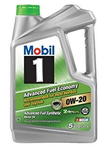 5 Qt Mobil 1 0W-20 Advanced Fuel Economy Full Synthetic Motor Oil + Mobil 1 110A Filter $15.85 AR