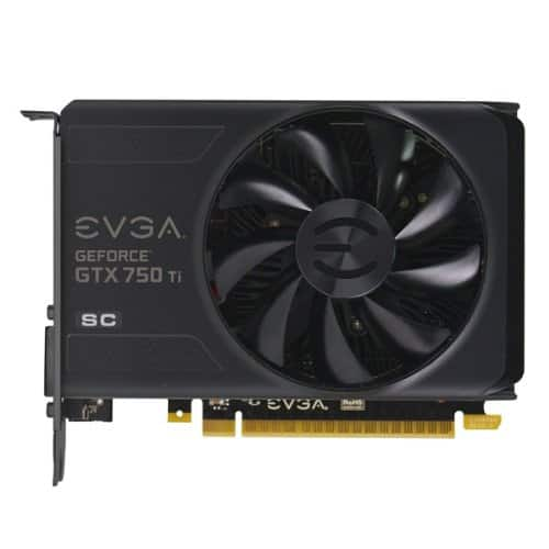 EVGA GeForce GTX 750Ti - 750 Ti - Superclock SC 2GB GDDR5 128bit, Dual-Link DVI-I, HDMI, DP - $86.05 Shipped or $66.06 Shipped - w/ Jet 20% and Amex