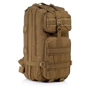 Outdoor Tactical Backpack Military Rucksacks for Camping Hiking and Trekking 45L $17.90